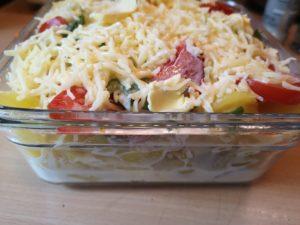 Kartoffel-Auflauf mit Maggikraut