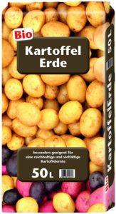 Erde für Kartoffeln