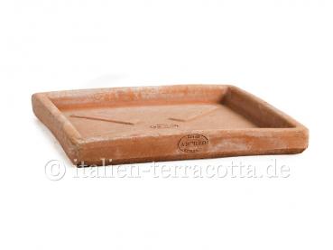Terracotta-Untersetzer